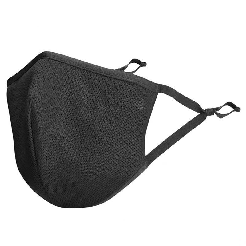 Jockey Unisex's Cotton Face Mask (Pack of 2) Black