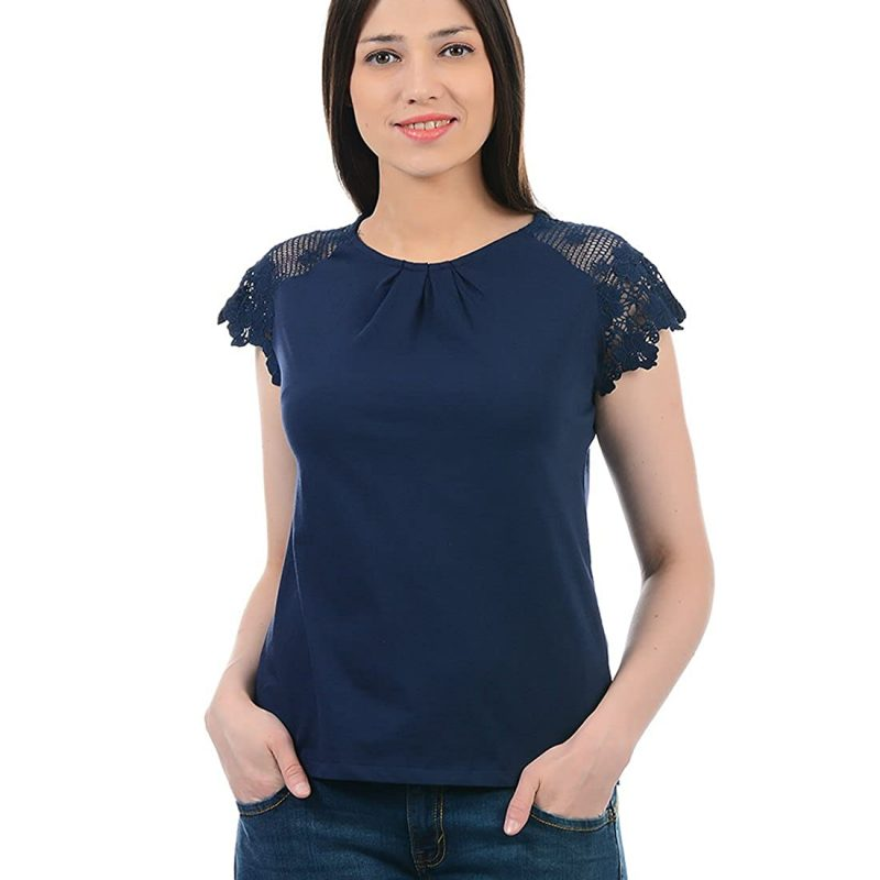Pepe Jeans Women's Plain Regular fit T-Shirt