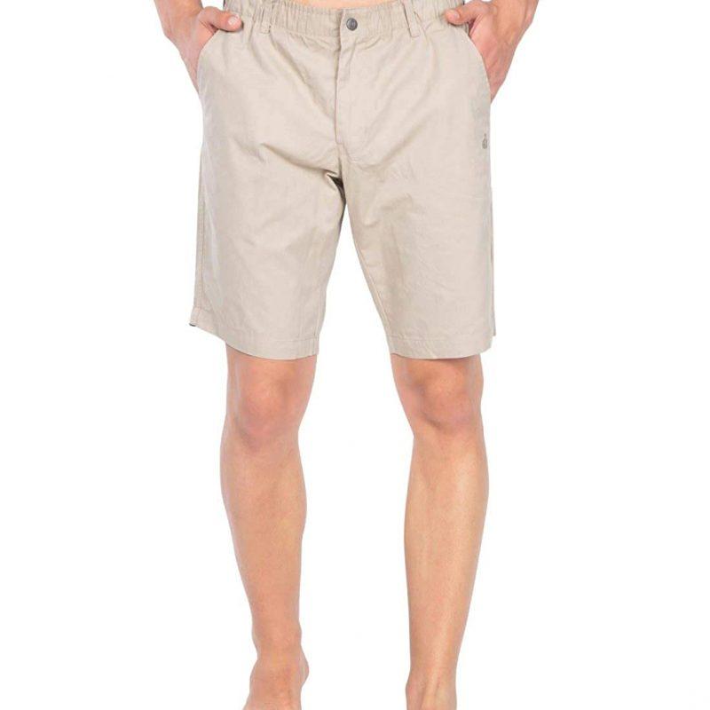 Jockey Men's Regular Fit Shorts Khaki