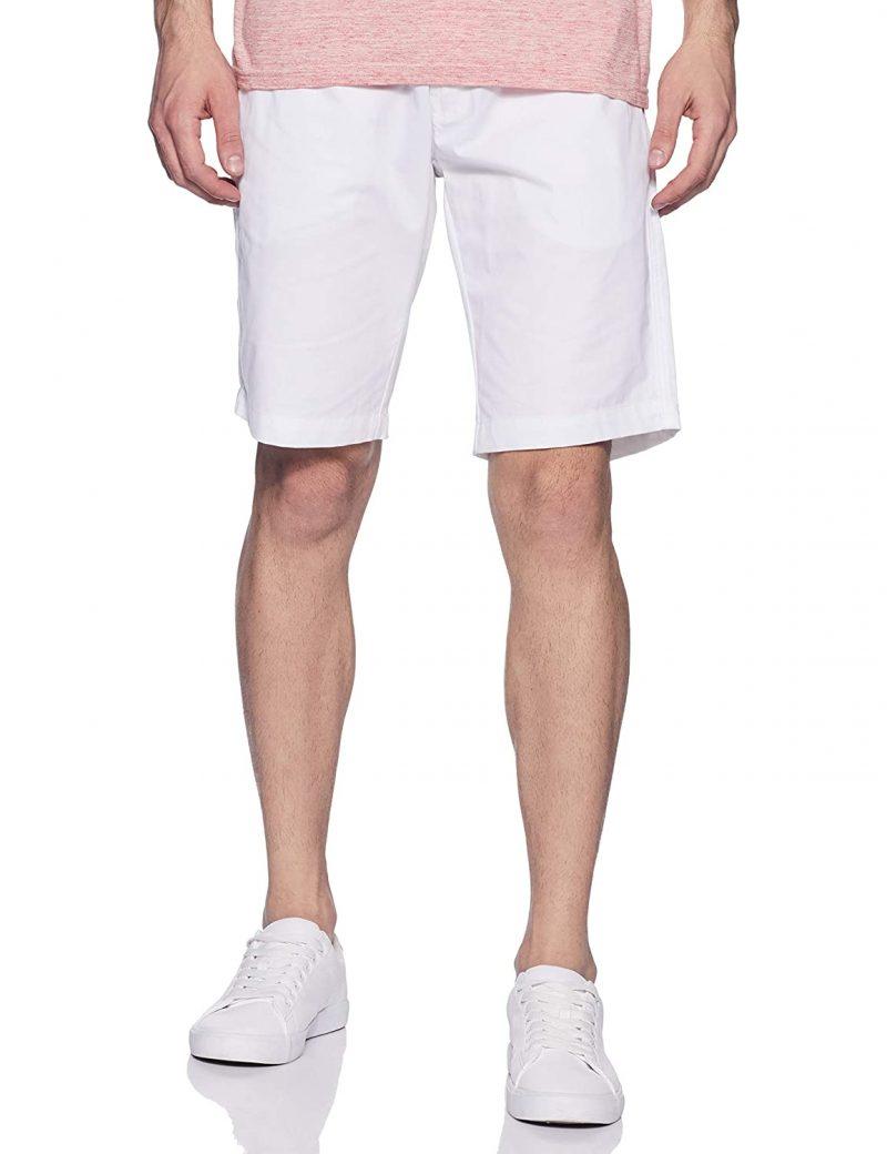 Jockey Men's Regular Fit Shorts White