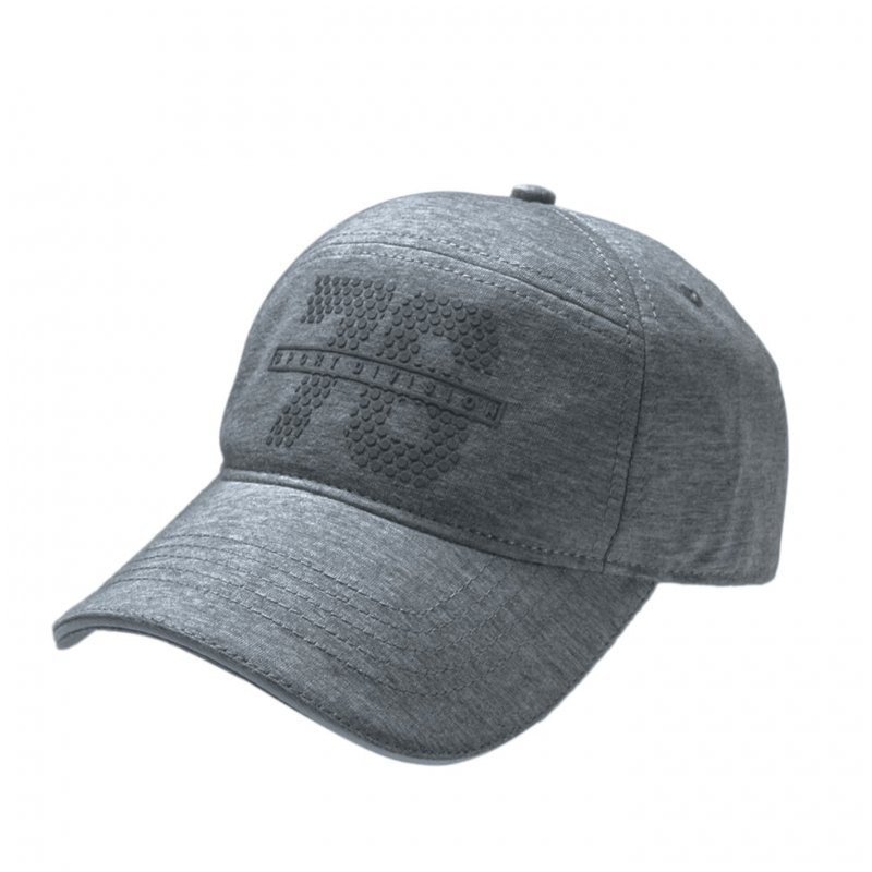 Jockey Navy Charcoal Melange Self Design Cap