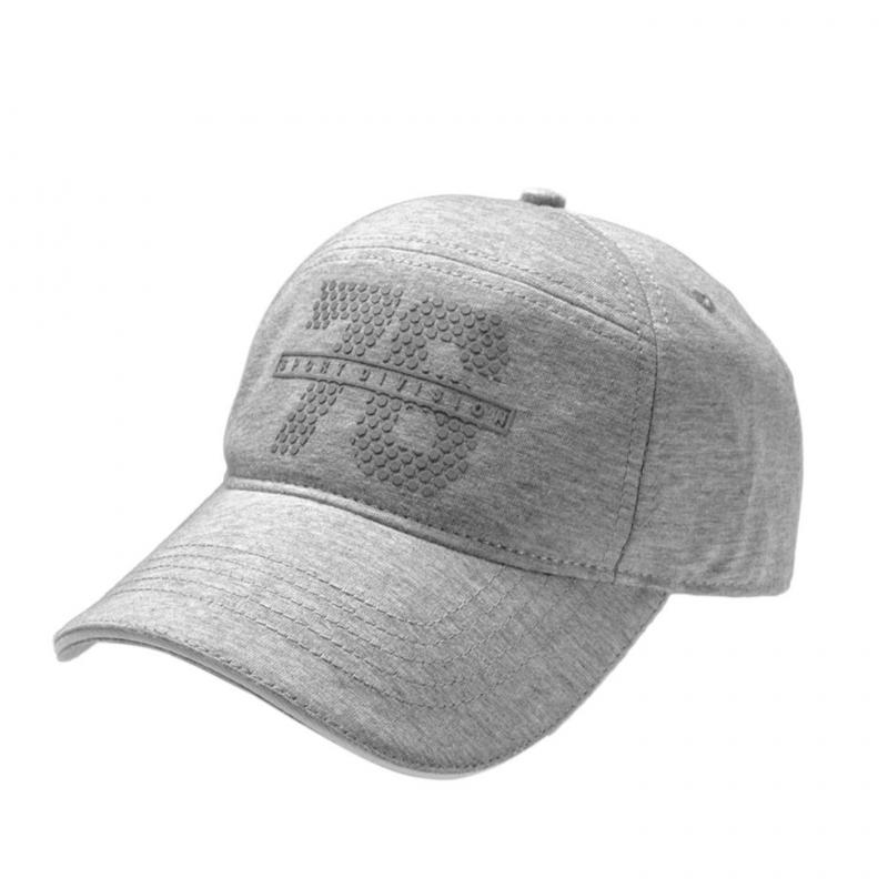 Jockey Navy Light Grey Melange Self Design Cap