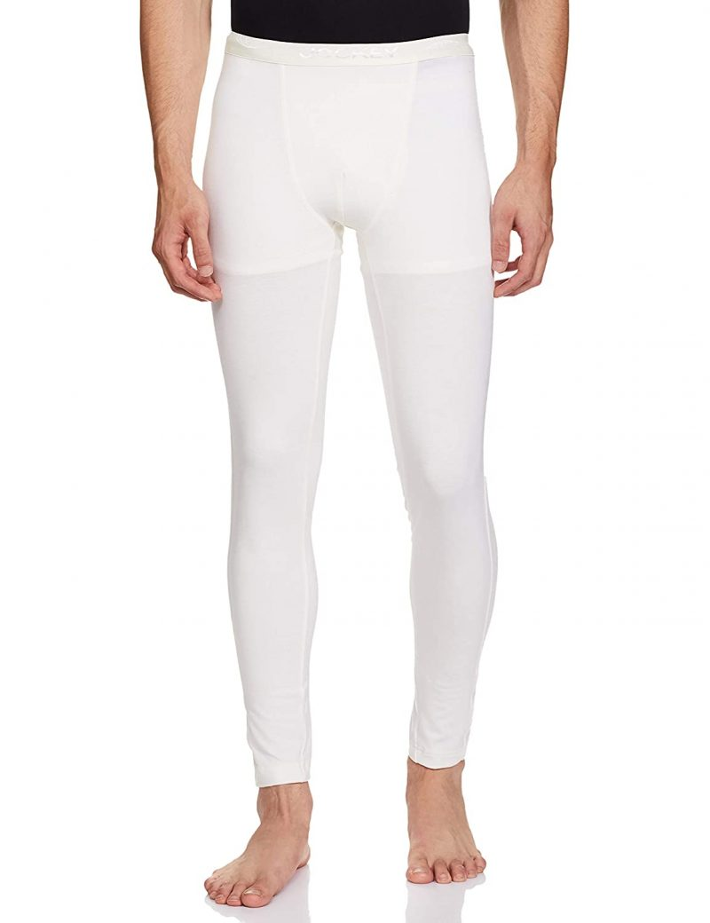 Jockey Men's Tailored Fit Thermal Bottom White