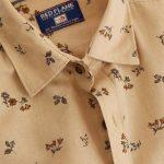 Cream Printed Shirt