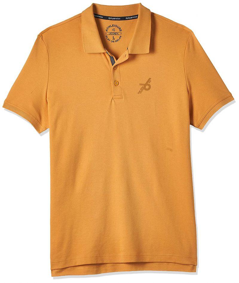 Jockey Men's Cotton Polo T-Shirt