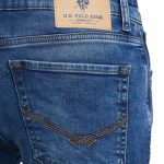 US Polo Association Men's Carrot Fitted Jeans